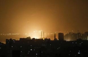 استشهاد 5 فلسطينيين بقصف قرب سياج غزة الامني