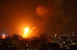 طائرات الاحتلال تقصف قطاع غزة