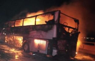 السعودية.. وفاة 35 معتمرا إثر حادث حافلة على طريق الهجرة