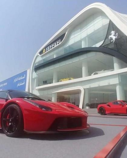 دبي تحتضن واحدة من أكبر صالات فيراري بالعالم